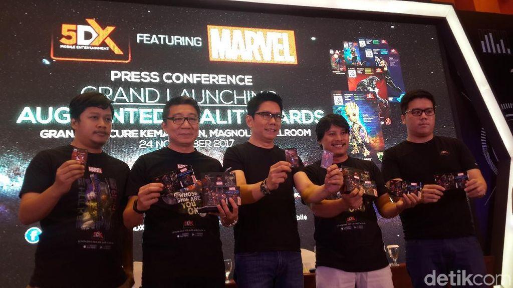 Pertama di Indonesia, Tokoh Marvel Dihidupkan Lewat Augmented Reality