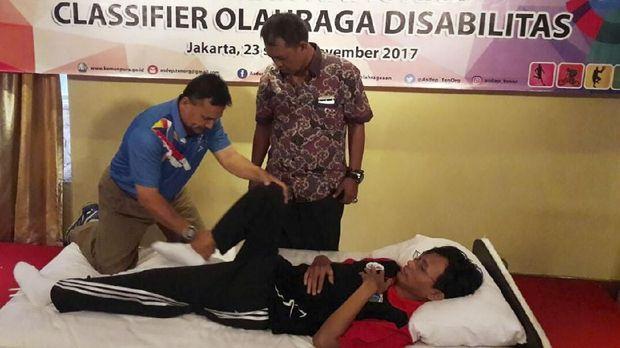 Proses klasifikasi atlet menjadi bagian penting dalam penyelenggaraan Asian Para Games.