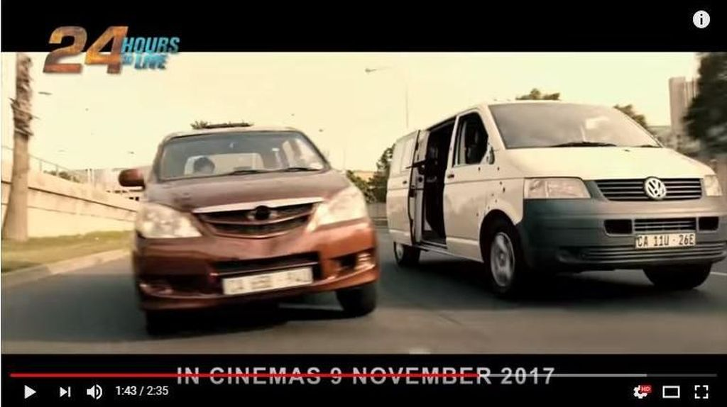 Toyota Avanza Mendunia dari Film Hollywood