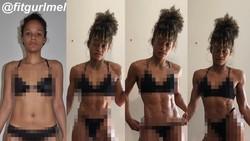 Melissa Alcantara yang disebut-sebut sebagai personal trainer pribadi untuk Kim Kardashian punya tubuh seksi berotot. Simak foto-fotonya berikut ini.
