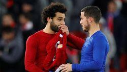 Seperti Messi dan Ronaldo, Salah Juga Jadi Panutan Hazard