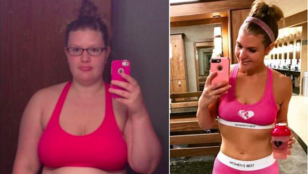 Perempuan Ini Turunkan Berat Badan 100 Kg dengan Tiga Trik Simpel