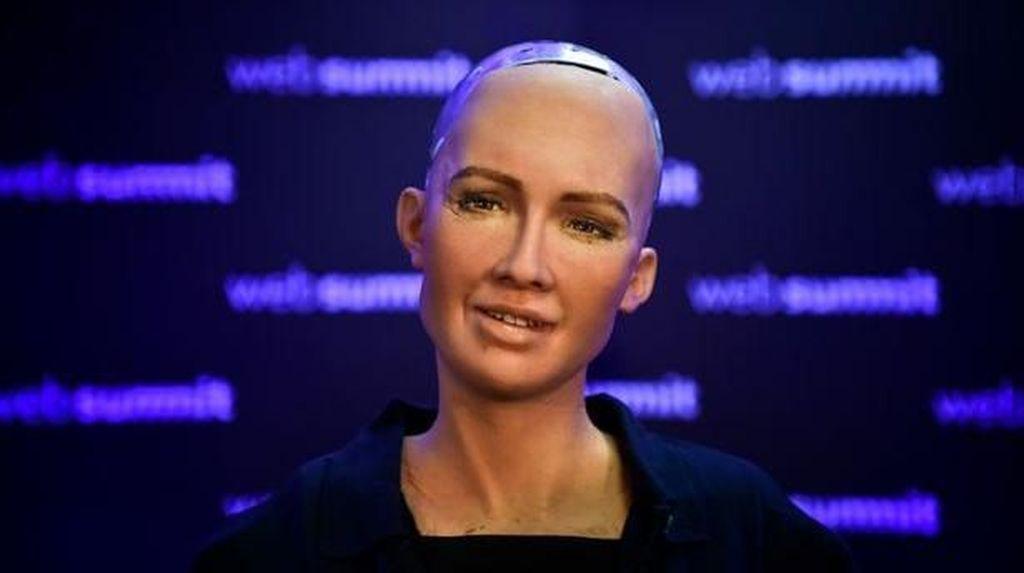 Menanti Presiden Jokowi Ngobrol Bareng Robot Sophia