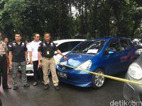 Polda Metro Amankan 30 Mobil Objek Fidusia Berpelat Bodong