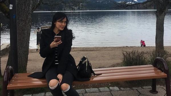 Wah, Inge juga pernah berkunjung ke Black Forest atau Schwarzwald di Jerman lho (ingenst/Instagram)