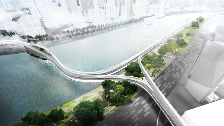 Jalanan Khusus untuk Kendaraan Listrik (Foto: BMW)