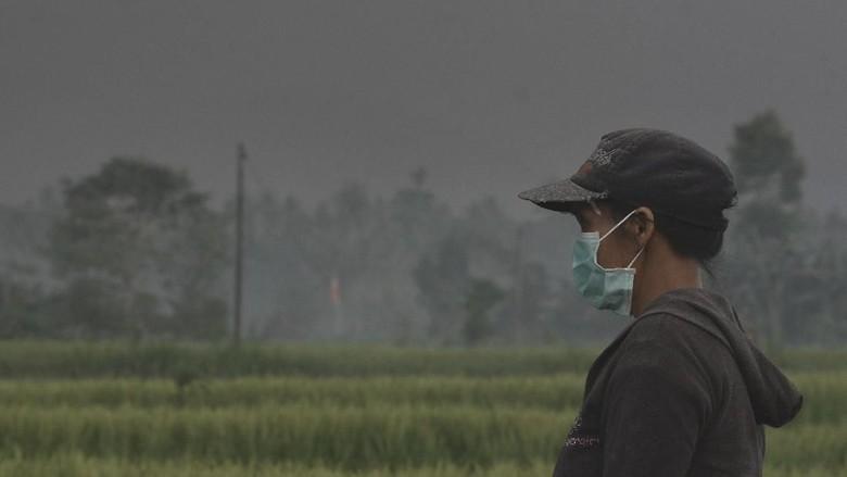 Kabut Asap Karhutla Sampai Palangka Raya, Siswa Diminta Pakai Masker