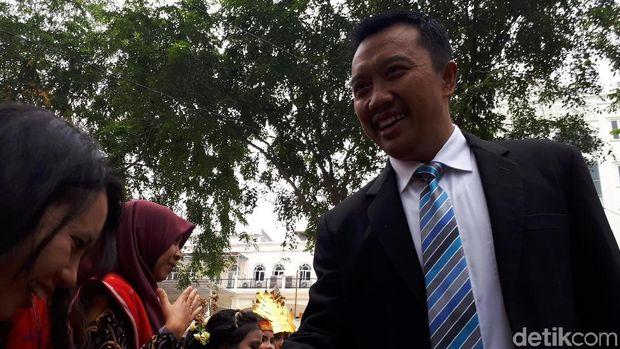 Menteri Kabinet Jokowi Hadiri Resepsi Kahiyang-Bobby di Medan