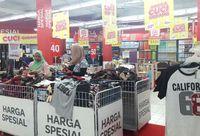 Diskon Barang Fashion di Transmart Carrefour