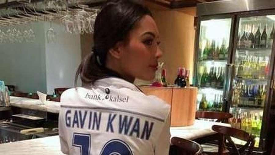 Saingan Ariel Tatum Nih, Begini Seksinya Pacar Gavin Kwan