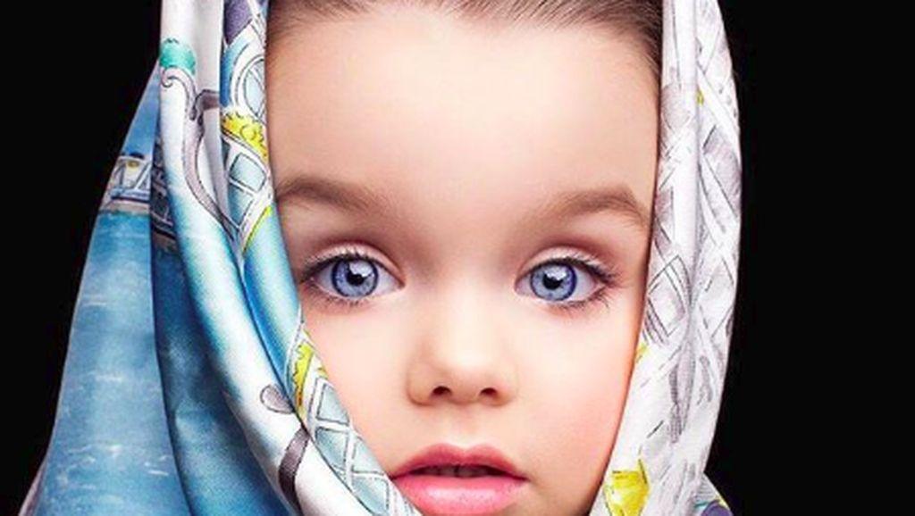 Foto: 10 Pesona Gadis Kecil Rusia yang Dianggap Paling Cantik Sedunia