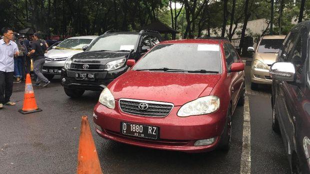 Silakan Cek! Ini Daftar 33 Mobil Sitaan Polisi Terkait Objek Fidusia