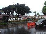 Erupsi Freatik Merapi Tak Ganggu Operasional Bandara Adisutjipto