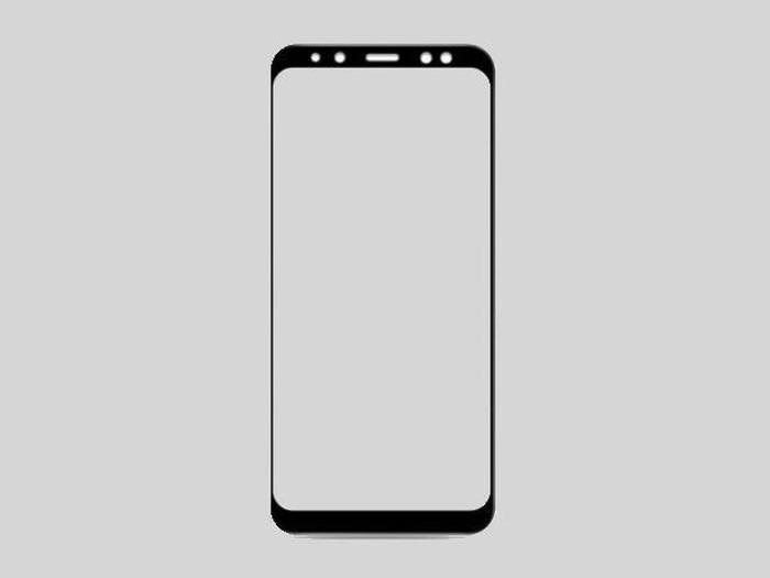 Bocoran desain Galaxy A8 2018. Foto: istimewa