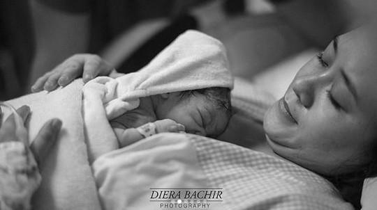 Momen Bahagia Kelahiran Putri Puadin Redi dan Ryana Dea