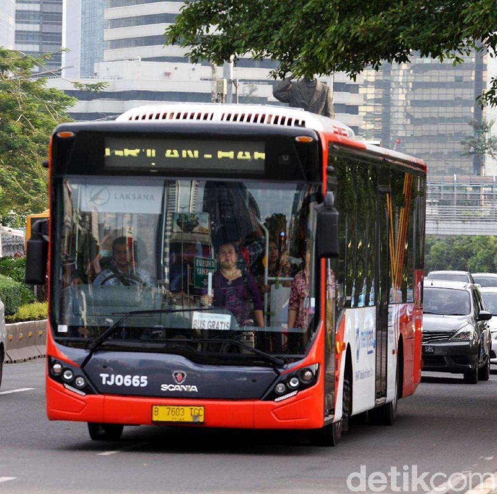 TransJakarta Buka Rute Baru Tanah Abang-Blok M