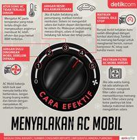 Sudah Benarkah Cara Anda Menyalakan AC Mobil?