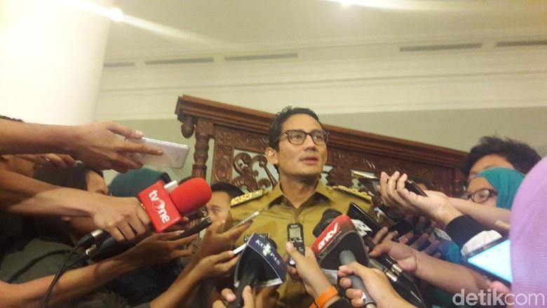 PD Sarana Jaya Sudah Sampaikan Rencana IPO ke Sandiaga