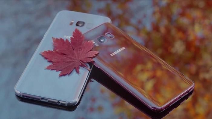 Galaxy S8 warna baru. Foto: istimewa