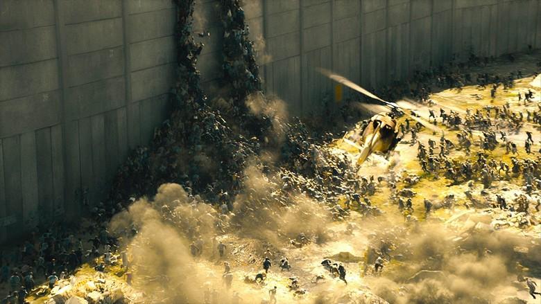Film zombie terbaik. Foto: World War Z (imdb)
