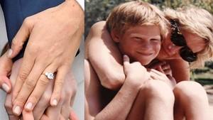 Cincin Tunangan Pangeran Harry Punya Kaitan dengan Putri Diana