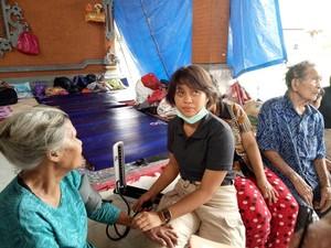 Pengungsi Gunung Agung Mulai Keluhkan Beberapa Penyakit