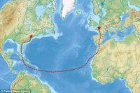 Bermodalkan Makanan Kedaluwarsa, Aktivis Ini Arungi Samudera Atlantik