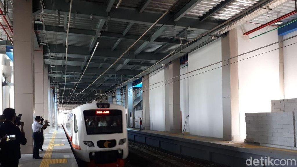 Kereta ke Bandara Soetta Sudah Rampung, Kok Belum Beroperasi?