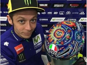 Ini Huichol, Helm Terbaru Valentino Rossi