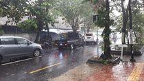 Waspada! Yogya Hari Ini Berpotensi Hujan Lebat dan Angin Kencang