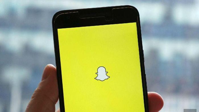 Ilustrasi Snapchat. Foto: Istimewa