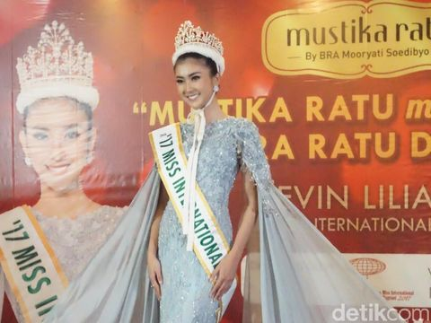 Juara Miss Interantional 2017 Kevin Lilliana