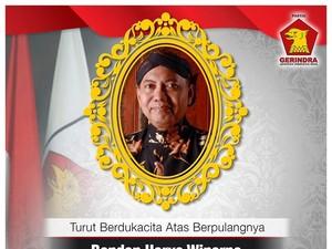 Gerindra: Selamat Jalan Pak Bondan, Pejuang Politik Partai Gerindra