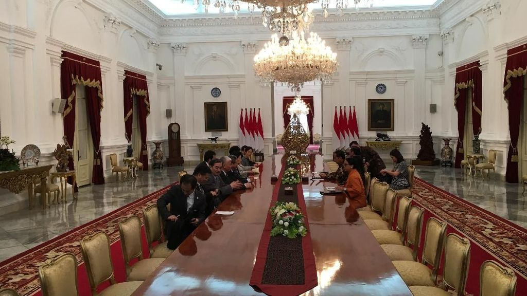 Temui Wakil PM China, Jokowi Minta Akses Produk RI Diperlebar