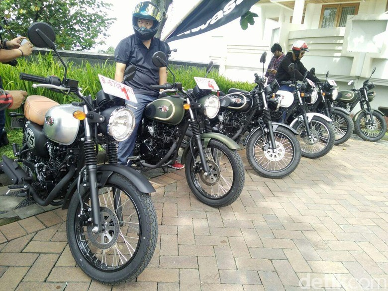 Kawasaki W175. Foto: Khairul Imam Ghozali