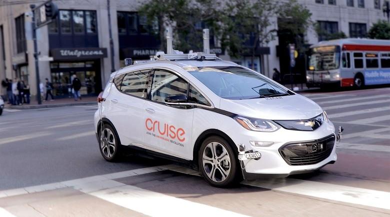 Mobil otonom General Motors. Foto: Istimewa
