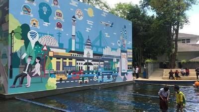 Bermain Sambil Belajar, Yuk Liburan ke Taman Sejarah Bandung