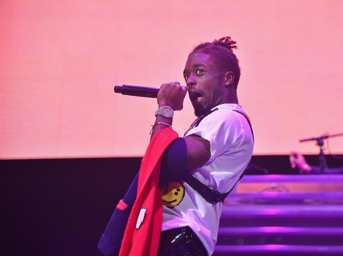 BROOKLYN, NY - OCTOBER 26:  Lil Uzi Vert performs onstage during 105.1's Powerhouse 2017 at the Barclays Center on October 26, 2017 in the Brooklyn, New York City City.  (Photo by Theo Wargo/Getty Images for iHeartMedia)