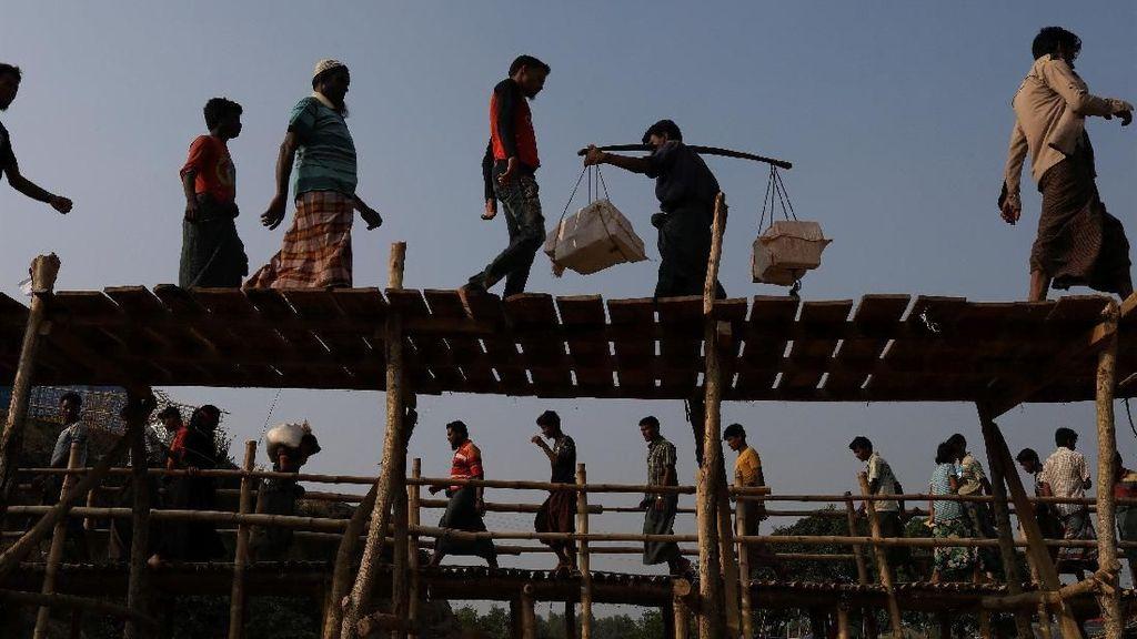 Lagi-lagi! India Deportasi Pengungsi Rohingya ke Myanmar