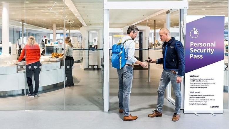 Personal Security Pass Bandara Schipol (dok schipol.nl)