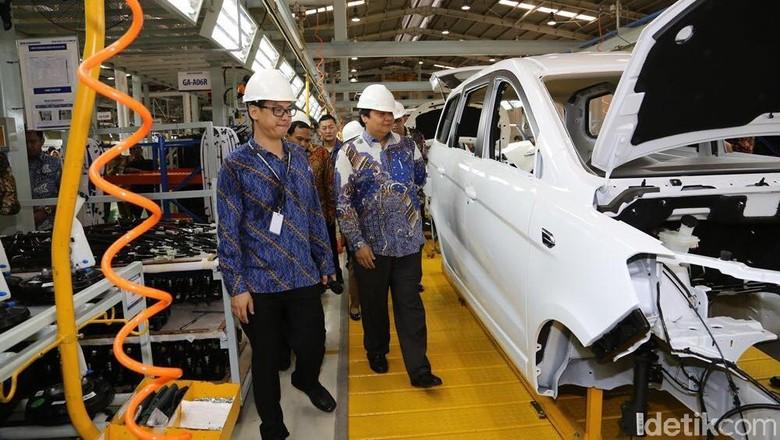 Pabrik Sokon di Cikande. Foto: Ruly Kurniawan