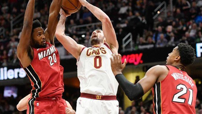 Cleveland Cavaliers kalahkan Miami Heat (David Richard-USA TODAY Sports)