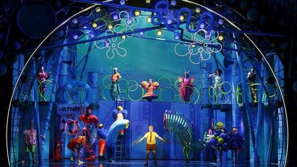 Mengenang Stephen Hillenburg, Ini Aksi SpongeBob di Panggung Musikal