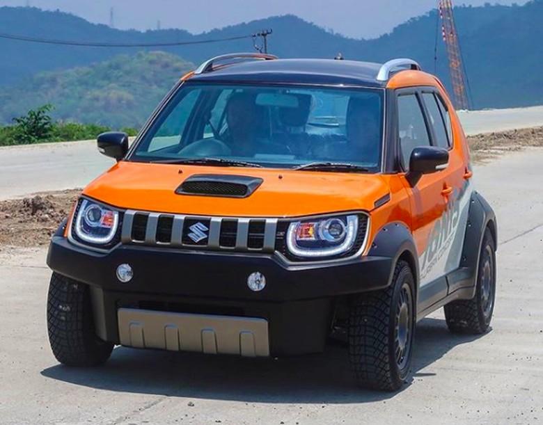 Suzuki Ignis modifikasi Foto: Pool (Instagram/Signal_Ind)