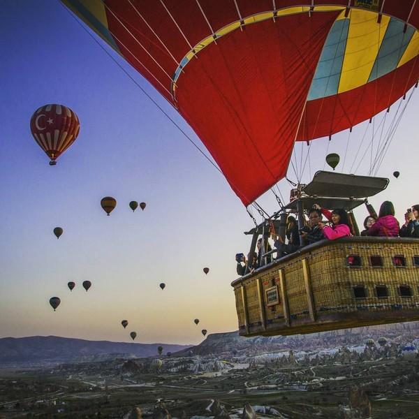 Wisata balon udara menjadi satu yang paling diminati di Cappadocia (Anatolian Balloons Cappadocia)