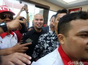 Stuntman Demian yang Kecelakaan, Ahmad Dhani Sambangi Polres Jaksel