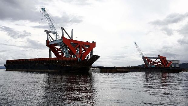 Jembatan Holtekamp di Jayapura-Papua