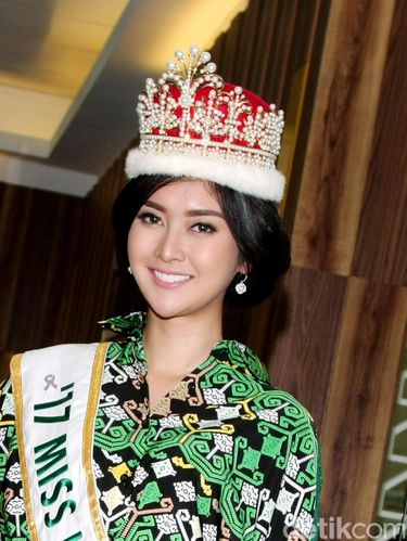 Mengenal Kevin Lilliana, Dulu Tomboy Kini Juara Miss International 2017