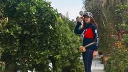 Masih ingat dengan Diah Permatasari? Bintang film Si Manis Jembatan Ancol itu tetap cantik dan awet muda berkat rajin berolahraga. Seperti apa? Intip yuk!