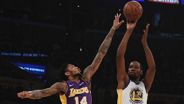 LA Lakers vs Golden State Warriors (Foto: Richard Mackson-USA TODAY Sports)
